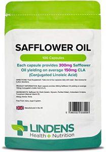 capsulas de aceite de cartamo acido linoleico conjugado