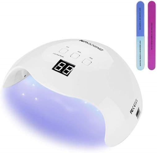 lampara secadora de uñas