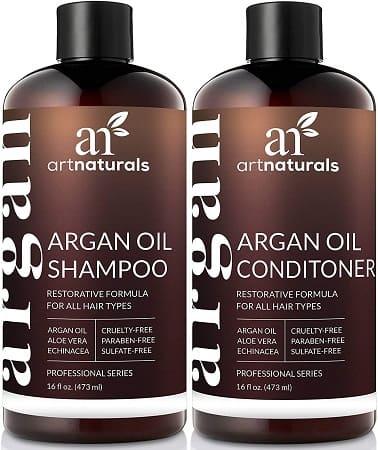 champu aceites esenciales argan